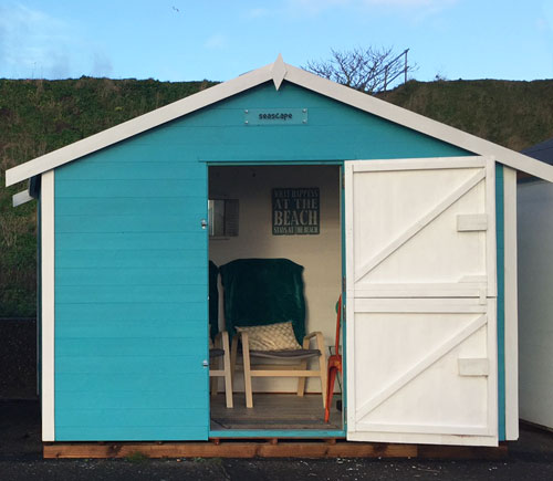for Beach hut style